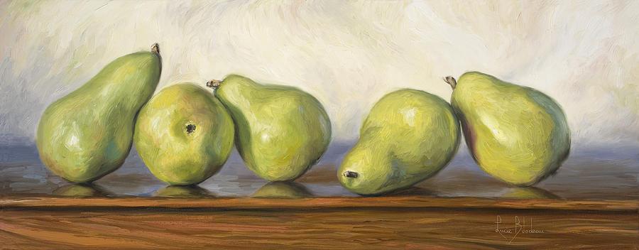 Anjou Pears Painting
