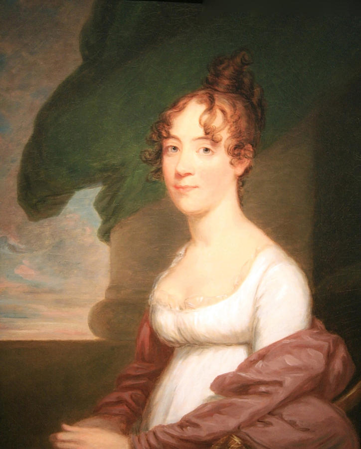 Anna Payne Cutts -- Dolley Madisons Sister Photograph  - Anna Payne Cutts -- Dolley Madisons Sister Fine Art Print