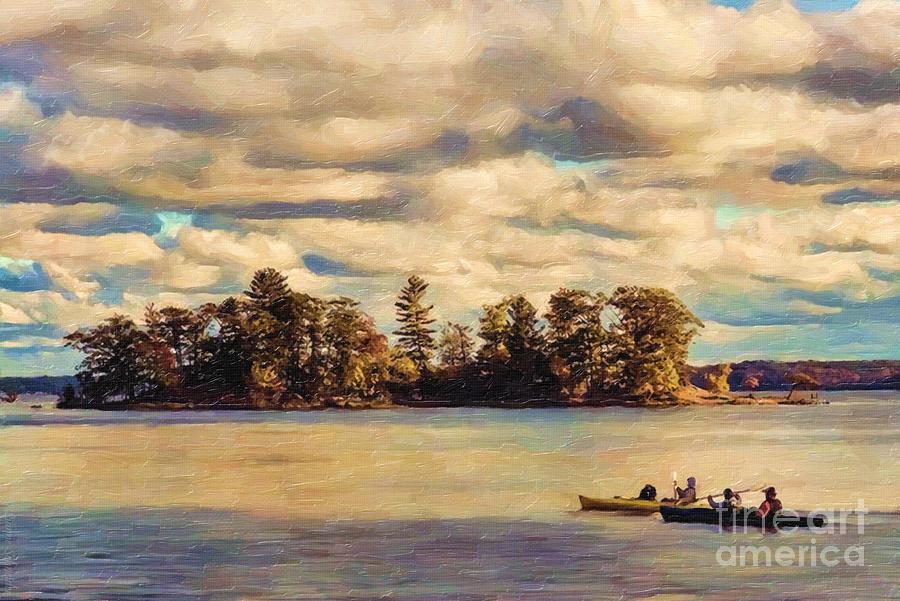 Anne Lacys Hamlin Lake Digital Art