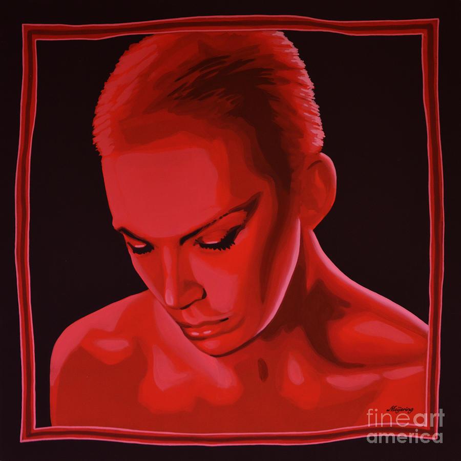 Annie Lennox Painting - Annie Lennox by Paul Meijering