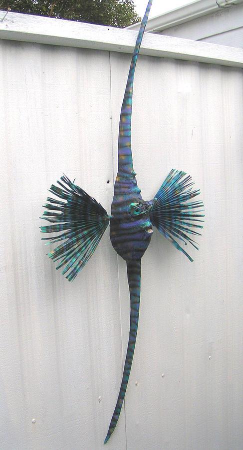 Annie The Angel Fish Sculpture