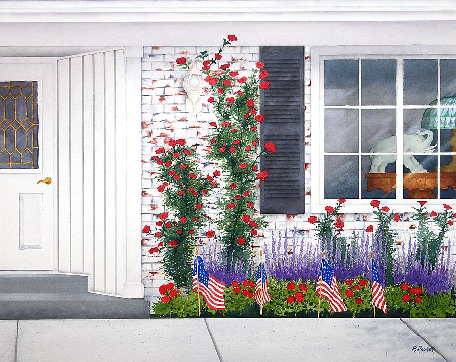 Fourth Of July Painting - Anniversary by Richard Rooker