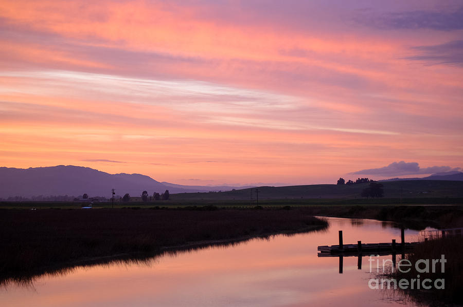 Sunset Photograph - Another Carneros Sunset by Jordan Rusin