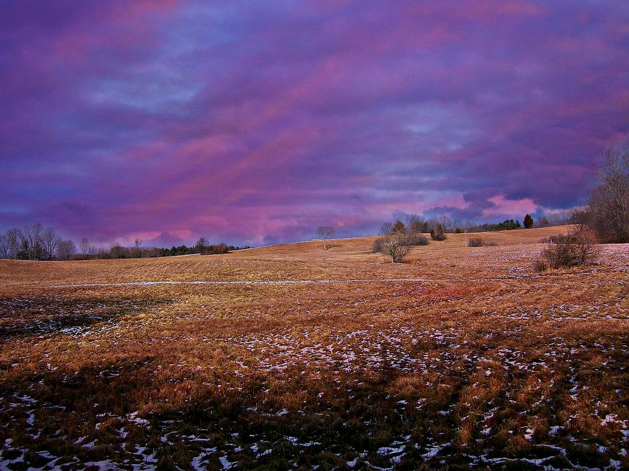 Landscape Photograph - Another Day by Barbara S Nickerson