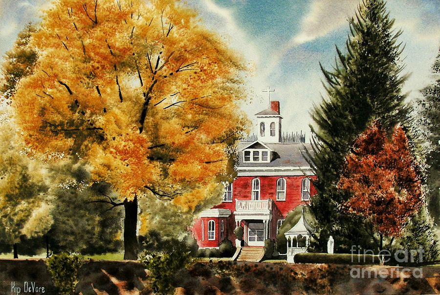 Antebellum Autumn II Painting