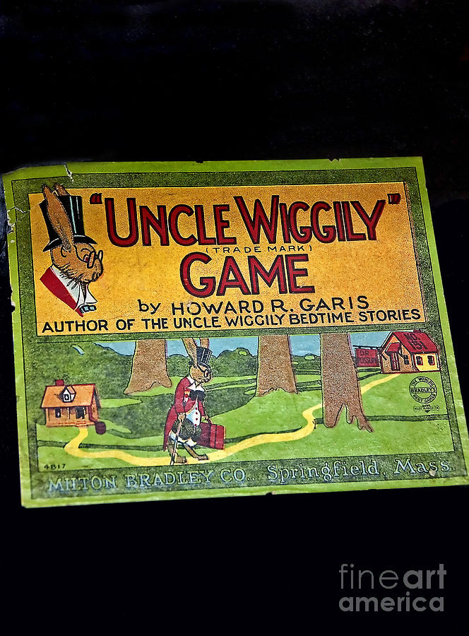 Antique Board Game Uncle Wiggily Photograph  - Antique Board Game Uncle Wiggily Fine Art Print
