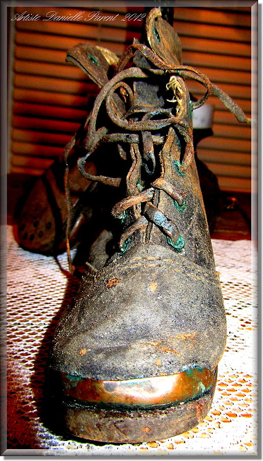 Antique Boots Photograph