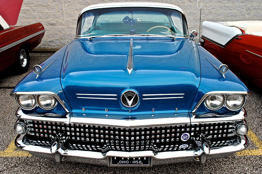 Antique Buick Photograph