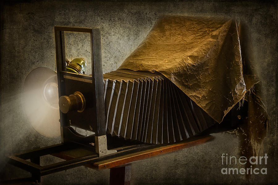 Antique Camera Photograph  - Antique Camera Fine Art Print