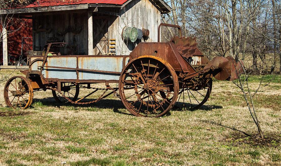 Antique Hay Bailer 1 Photograph