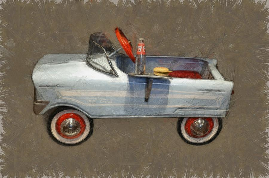 Antique Pedal Car Lv Photograph