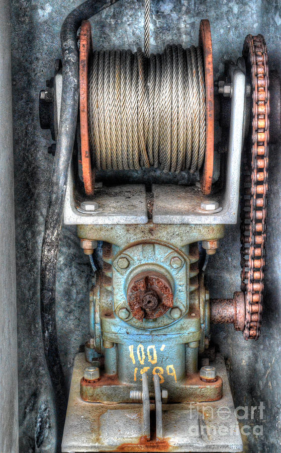 Antique Winch Photograph