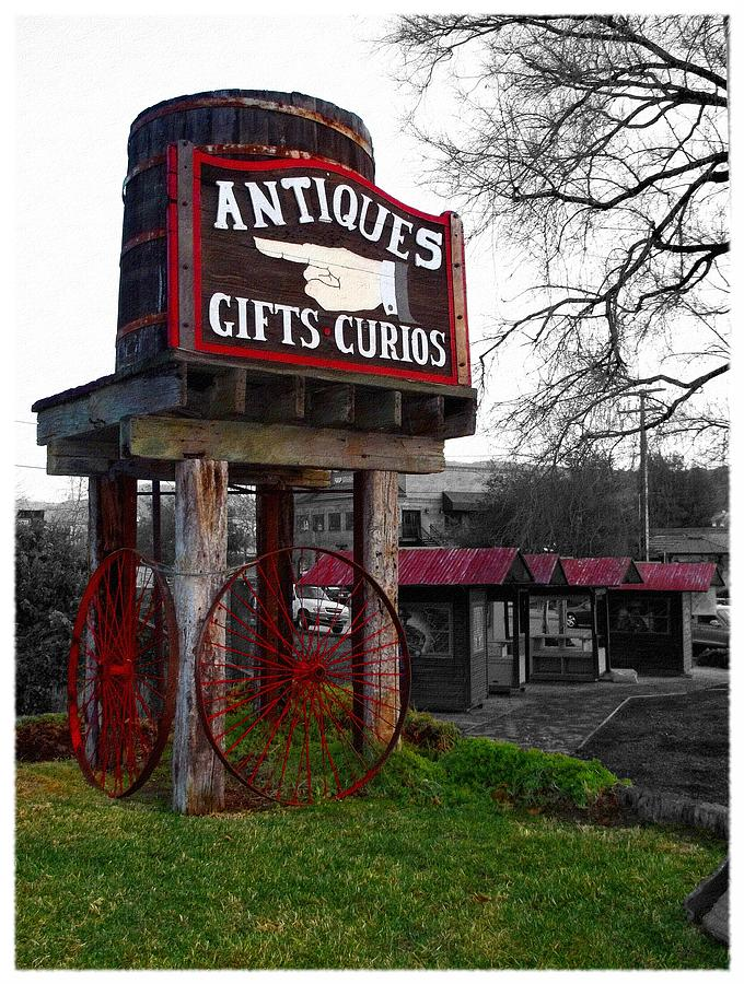 Antiques... That Way Photograph