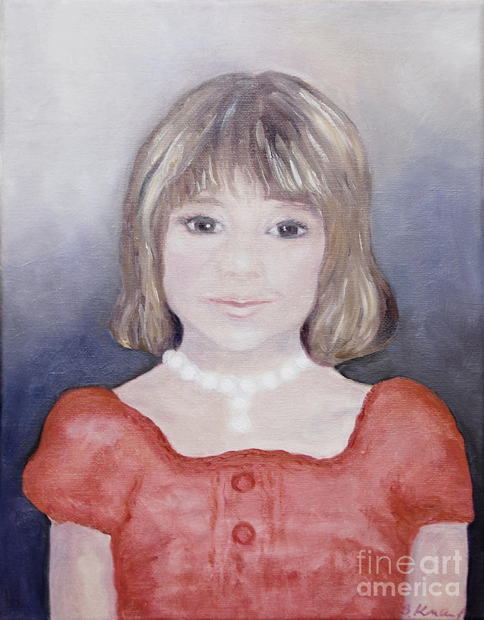 Antonia Portrait Painting