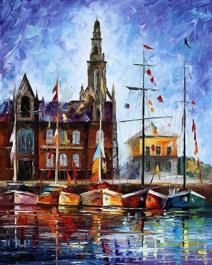 Antwerp - Belgium Painting