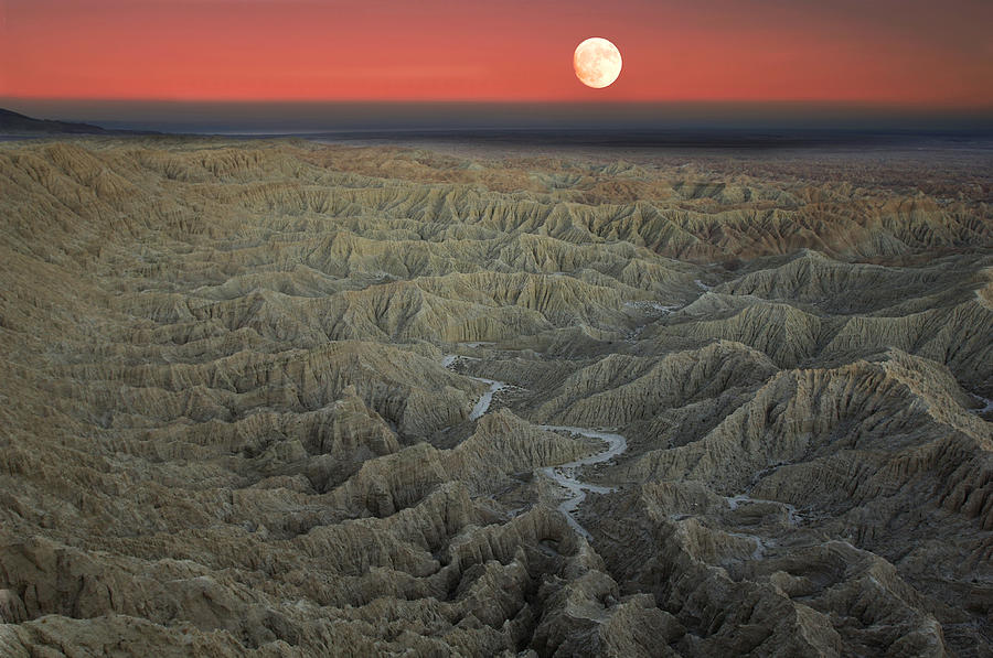 anza borrego badlands is a photograph by christian heeb which was
