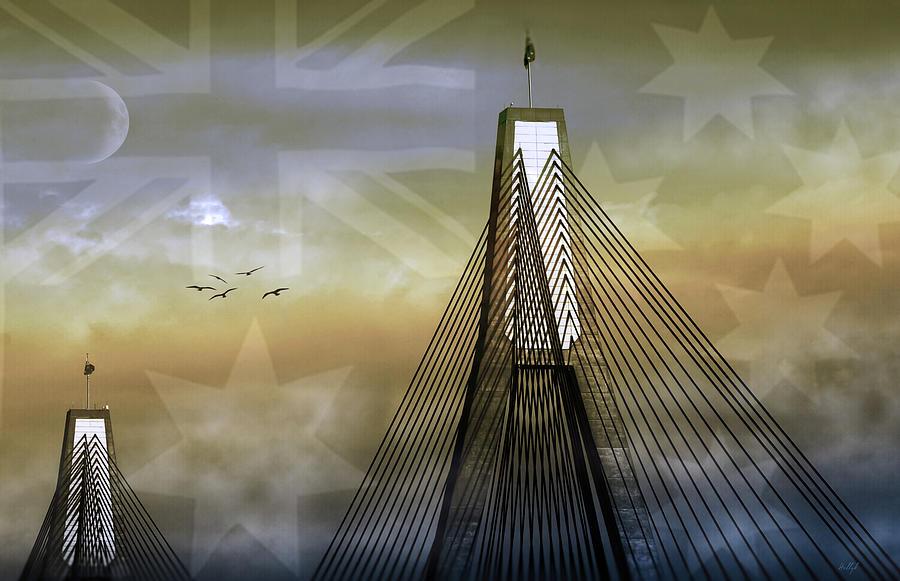 Anzac Bridge Photograph