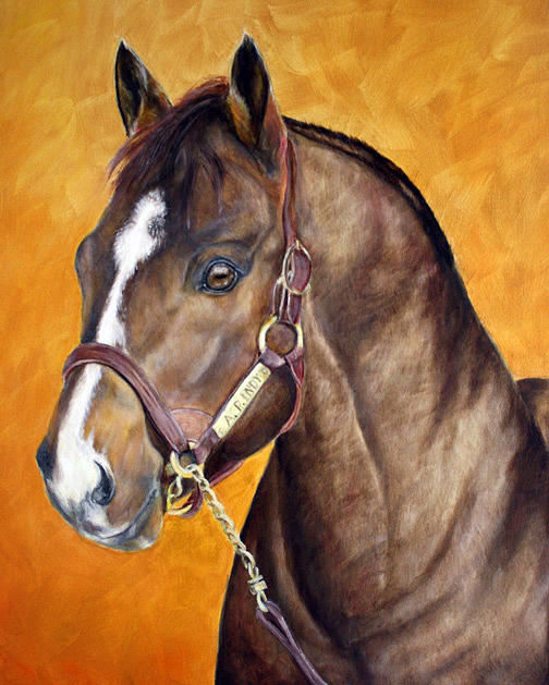 A.p. Indy Painting