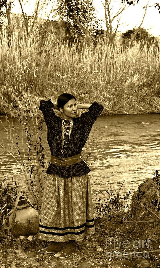 Apache River Maiden Photograph By Jean Hildebrant