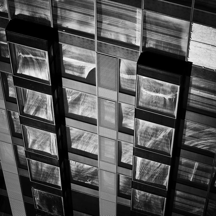 Apartment Building Modern Facade Photograph By Artur Bogacki