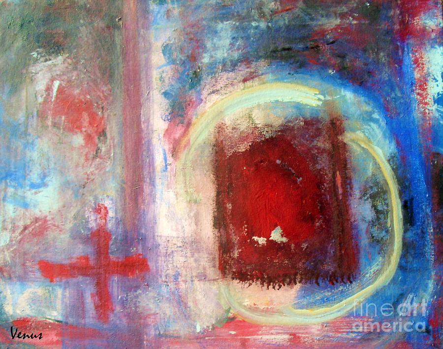 Abstract Painting - Apocolypse by Venus