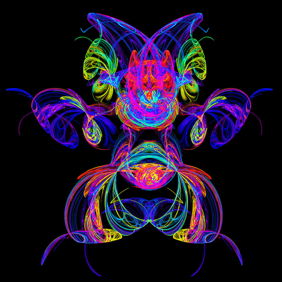 Apophysis Puppy Digital Art