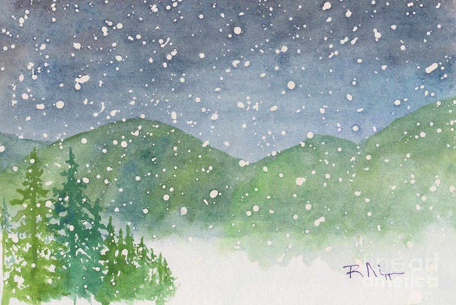 Appalachian Winter 12-10-12 Painting