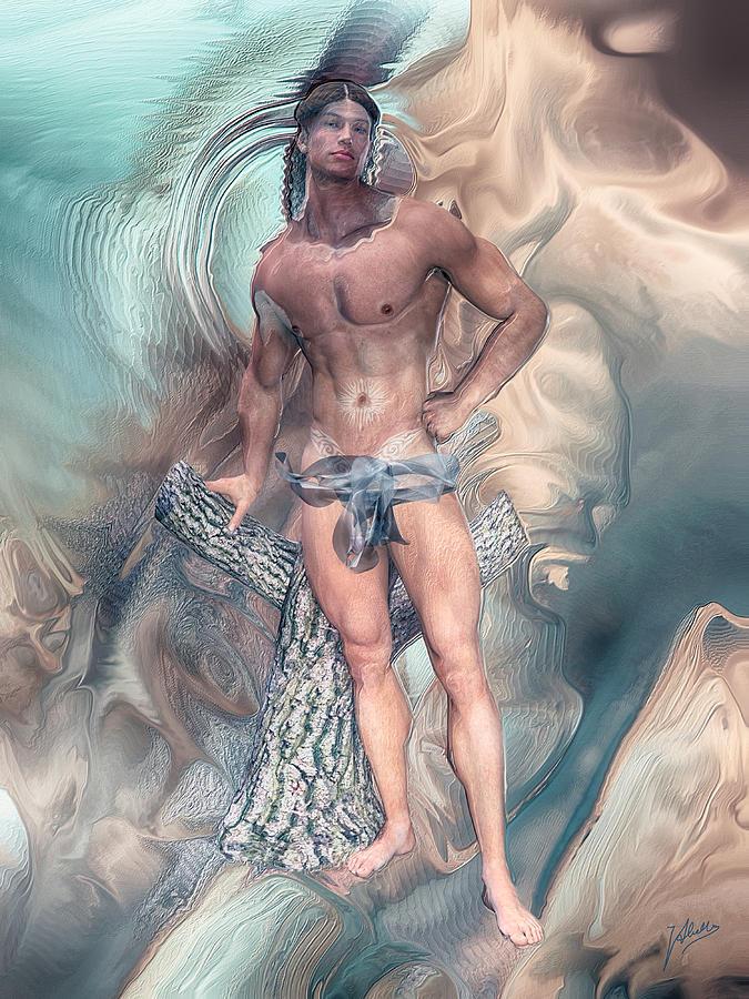 Appearance Of Adonis Digital Art