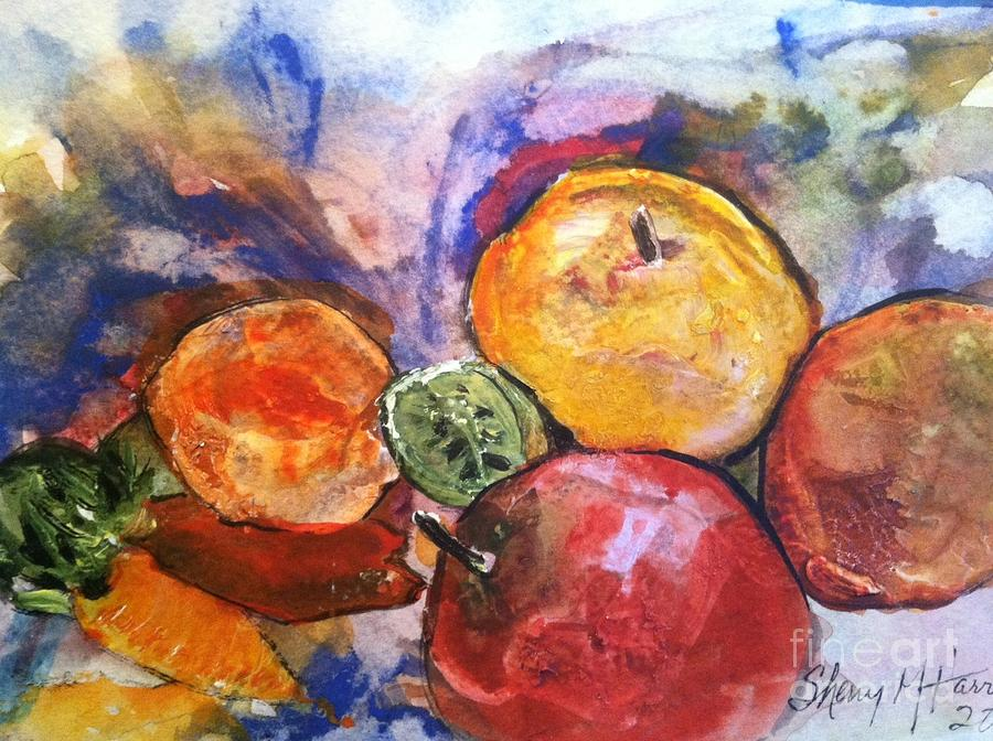 Appetite For Color Painting  - Appetite For Color Fine Art Print