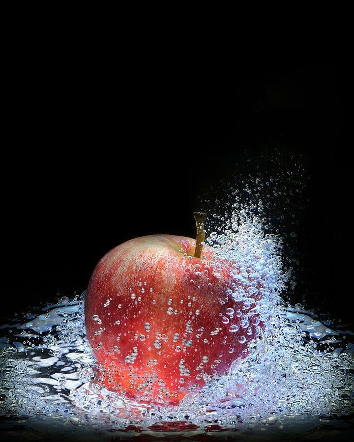 Art Photograph - Apple by Krasimir Tolev
