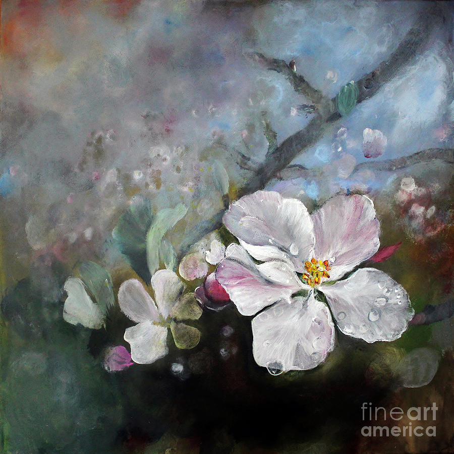 Appleblossom Painting