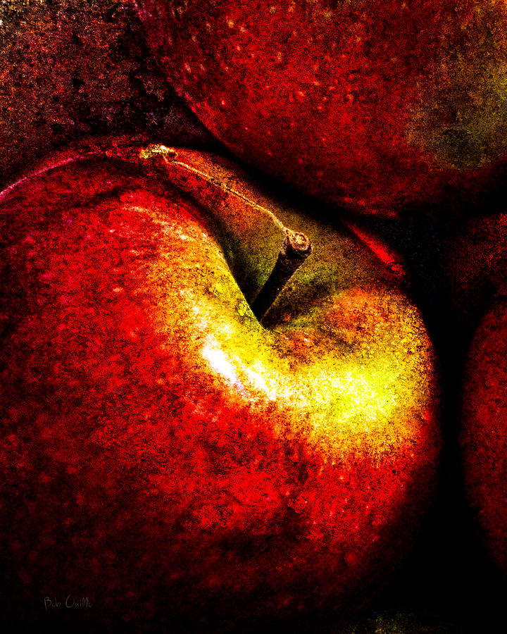 Apple Photograph - Apples  by Bob Orsillo