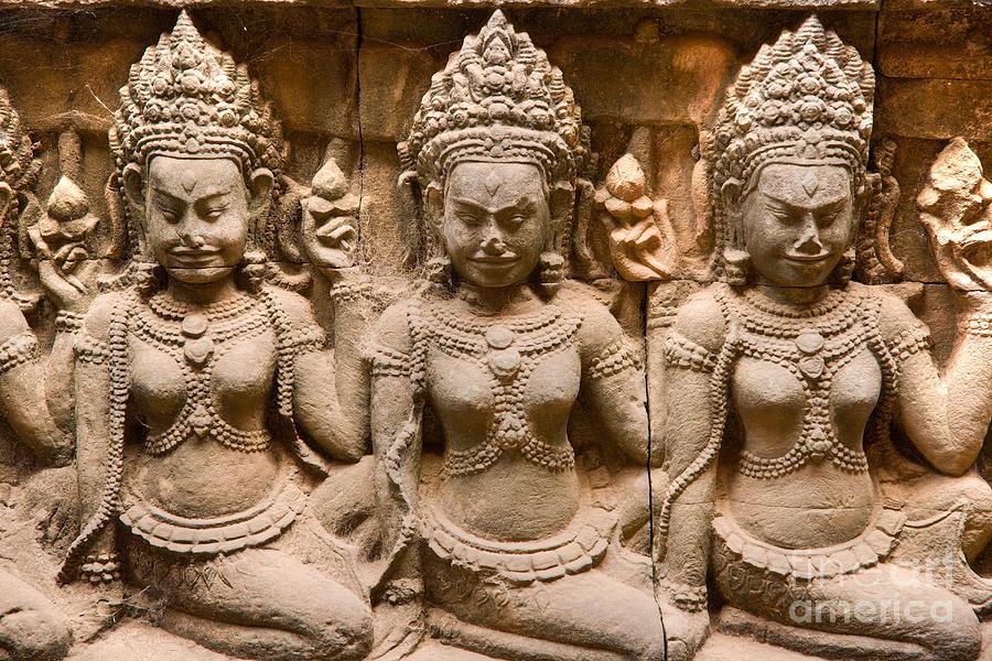 Apsara Angkor Wat By Luciano Mortula