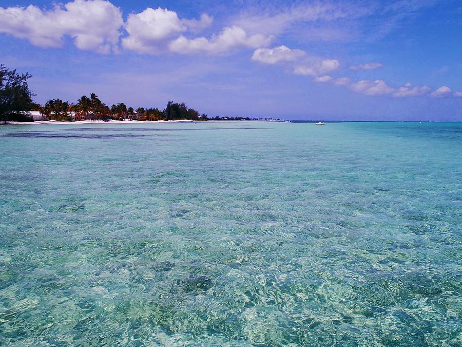 Aqua Blue Photograph