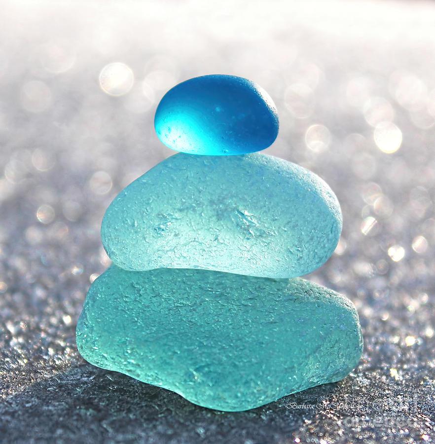 Aquamarine Ice Photograph