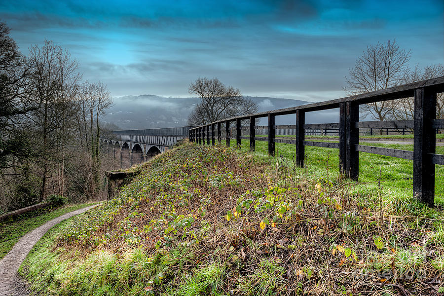 Aqueduct At Pontcysyllte Photograph