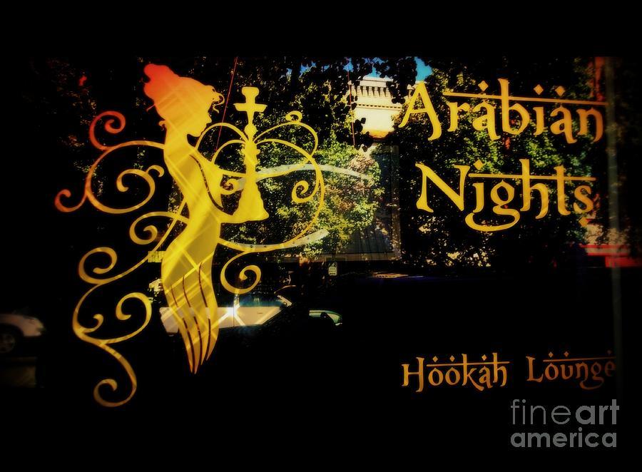 fascinating arabian nights hookah lounge | Arabian Nights Hookah Lounge Photograph by Kelly Awad