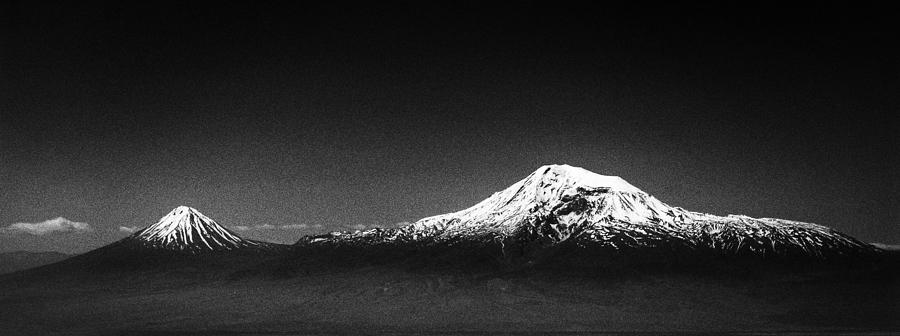 Ararat Mountain Digital Art  - Ararat Mountain Fine Art Print