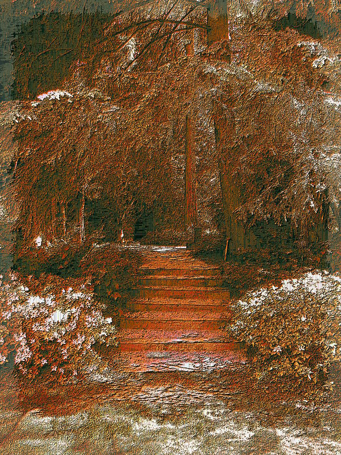 Arbor Steps Digital Art