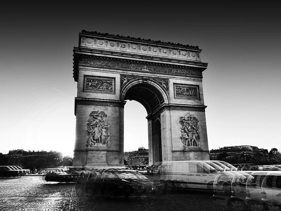 Arc De Triomphe - Paris Photograph  - Arc De Triomphe - Paris Fine Art Print
