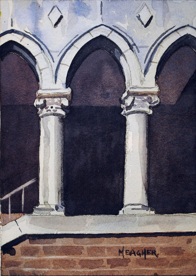 Arches  Painting