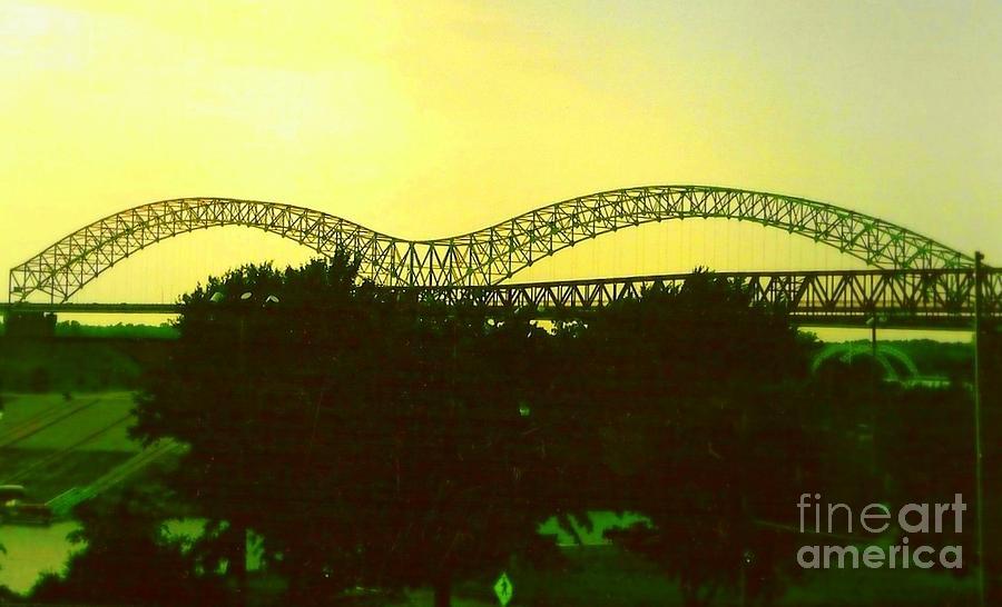 Arches Towards Little Rock And Memphis Photograph
