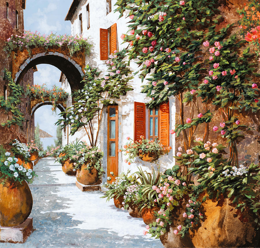 Arches Painting - Archi E Orci by Guido Borelli