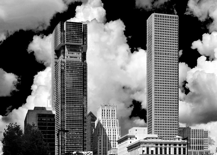 Architectural Diversity Houston Tx Photograph