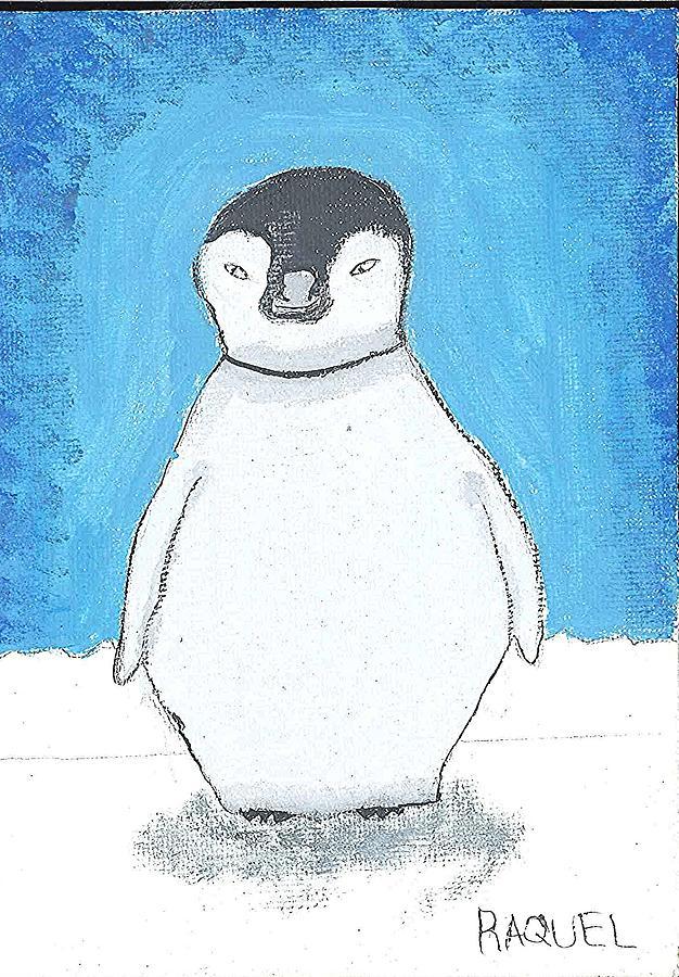 Arctic Penguin Painting