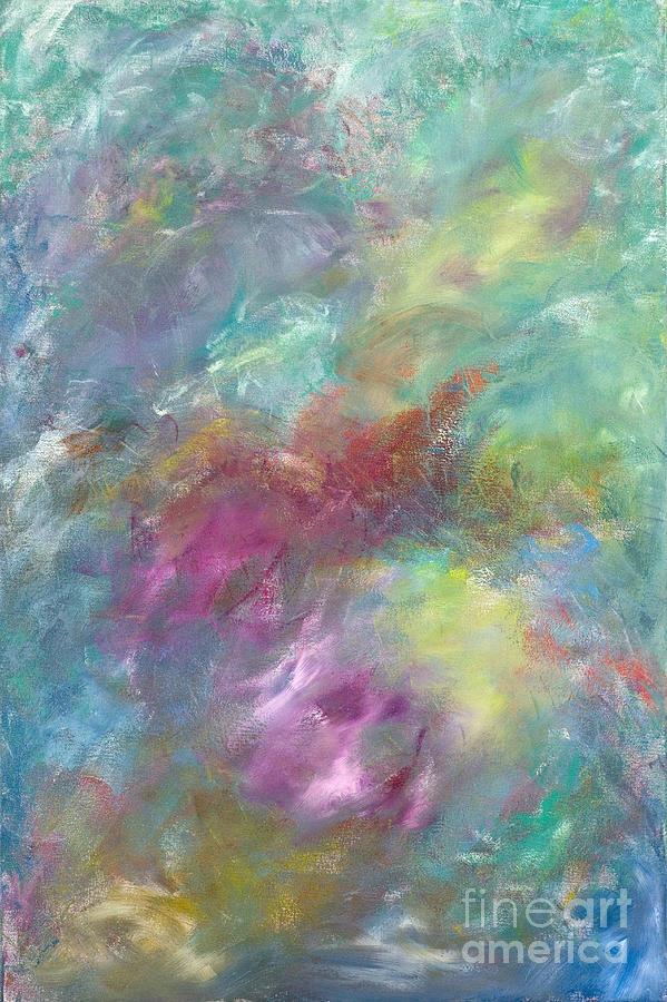 Acrylic Painting - Arctic Sky by Jason Stephen