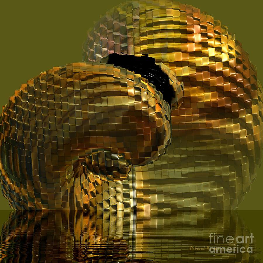 Digital Art Digital Art - Arisen From The Depths by Deborah Benoit