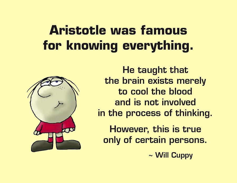 Aristotle Photograph - Aristotle Knew It All by Mike Flynn