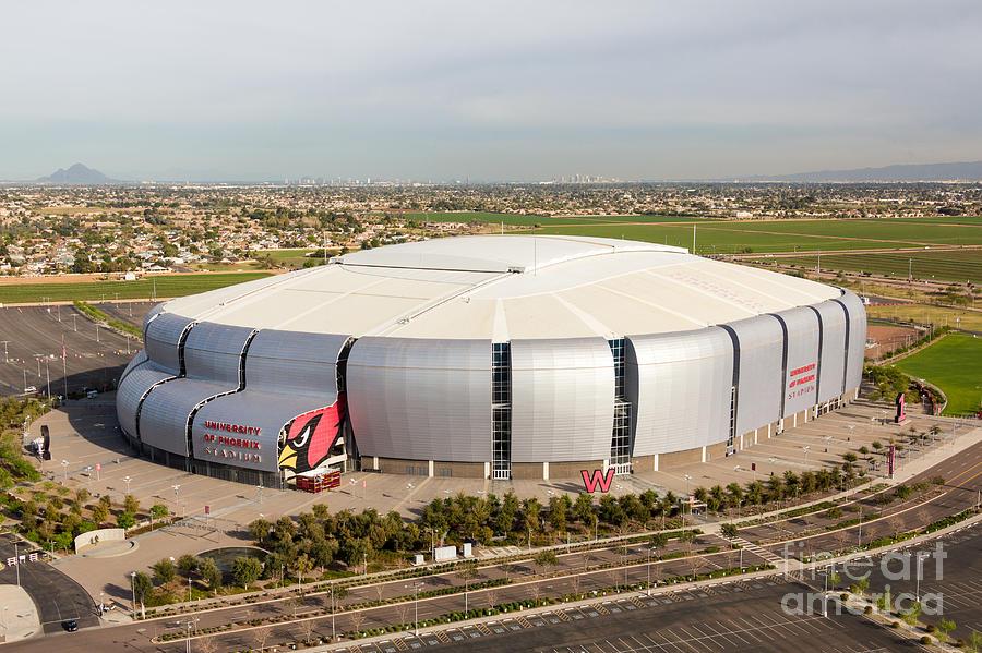 Arizona Cardinals Stadium Photograph By John Ferrante