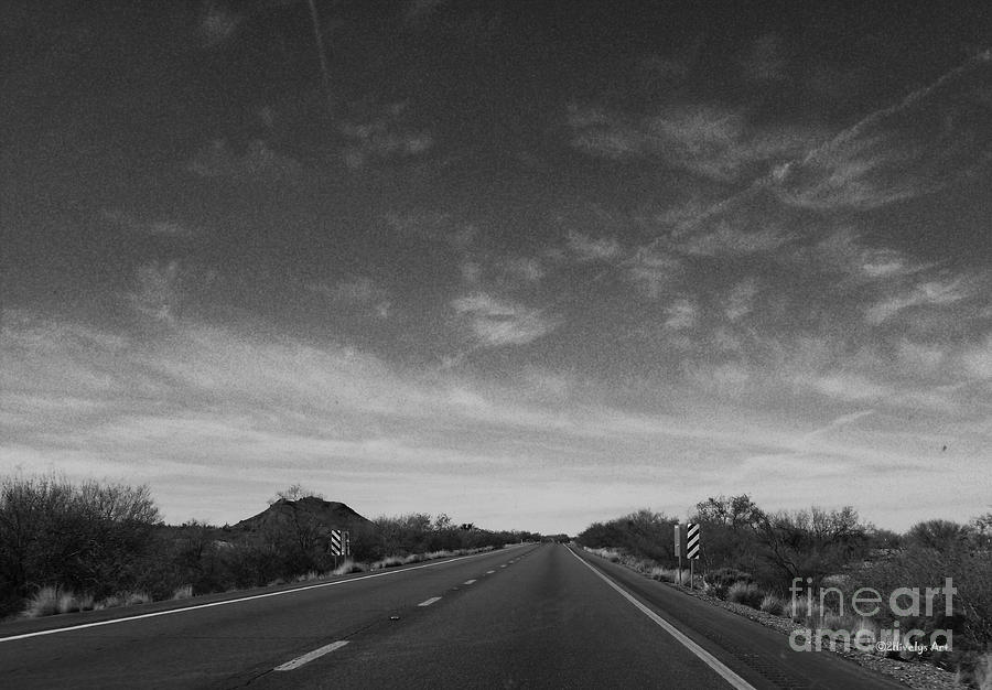 Arizona Highway 70 West Photograph  - Arizona Highway 70 West Fine Art Print
